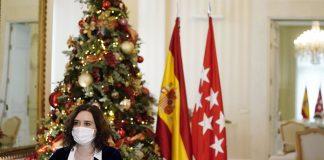 """Ayuso pide que """"lleguen pronto más vacunas"""" contra el Covid-19 a la Comunidad de Madrid"""