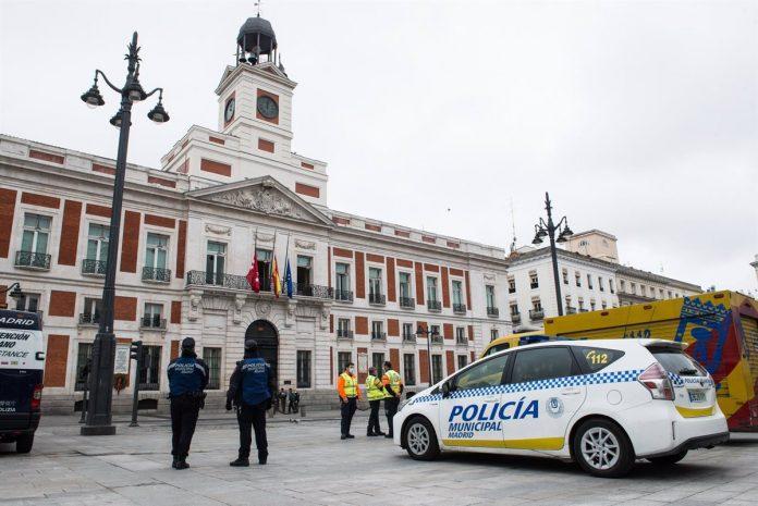 La Policía Municipal desalojará la Puerta del Sol a partir de las 22:00 horas los días 30 y 31 de diciembre