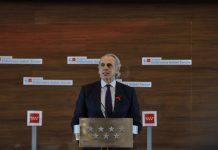 Escudero afirma que Madrid acatará las medidas de Navidad aunque no esté de acuerdo y haya votado en contra